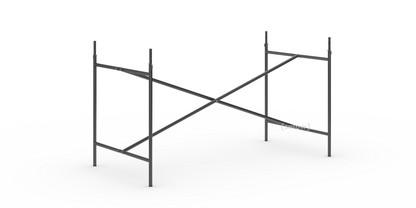 Eiermann 2 Tischgestell  Schwarz|senkrecht, mittig|135 x 66 cm|Mit Verlängerung (Höhe 72-85 cm)