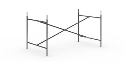 Eiermann 2 Tischgestell  Schwarz|senkrecht, mittig|135 x 78 cm|Mit Verlängerung (Höhe 72-85 cm)