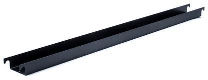 Kabelrinne für Eiermann Tischgestelle Für Tischgestell 135 cm (Eiermann 2) Schwarz