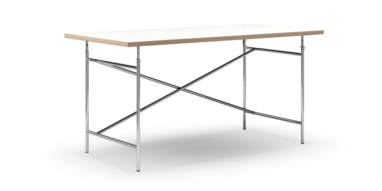 Richard Lampert Eiermann Tisch Melamin Weiß Mit Eichekante 160 X
