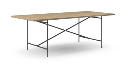 richard lampert eiermann 2 esstisch eiche ger uchert 200 x 90 cm schwarz von richard lampert. Black Bedroom Furniture Sets. Home Design Ideas