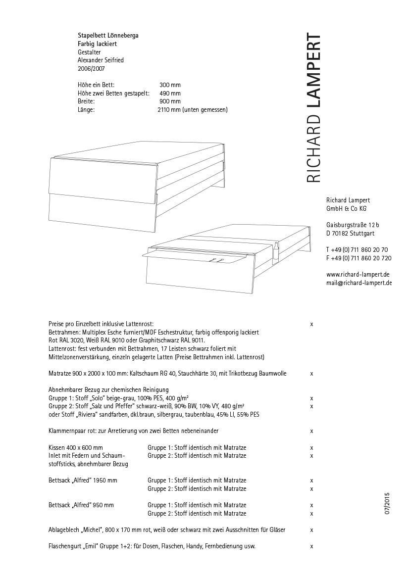 richard lampert l nneberga mdf von alexander seifried 2009 designerm bel von. Black Bedroom Furniture Sets. Home Design Ideas