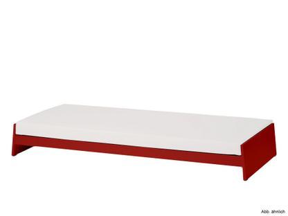 Stapelbett Lönneberga rot lackiert Mit Matratze Ohne Bezug