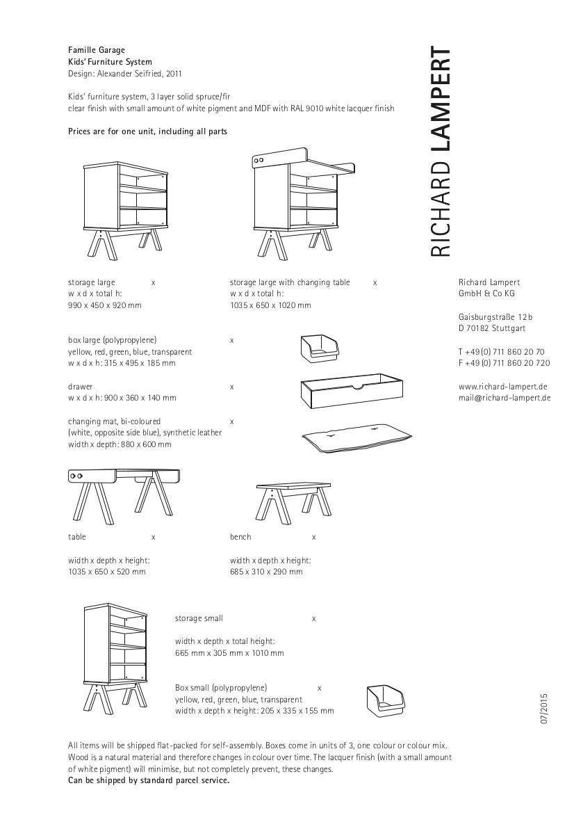 richard lampert famille garage bench by alexander seifried 2011 designer furniture by. Black Bedroom Furniture Sets. Home Design Ideas