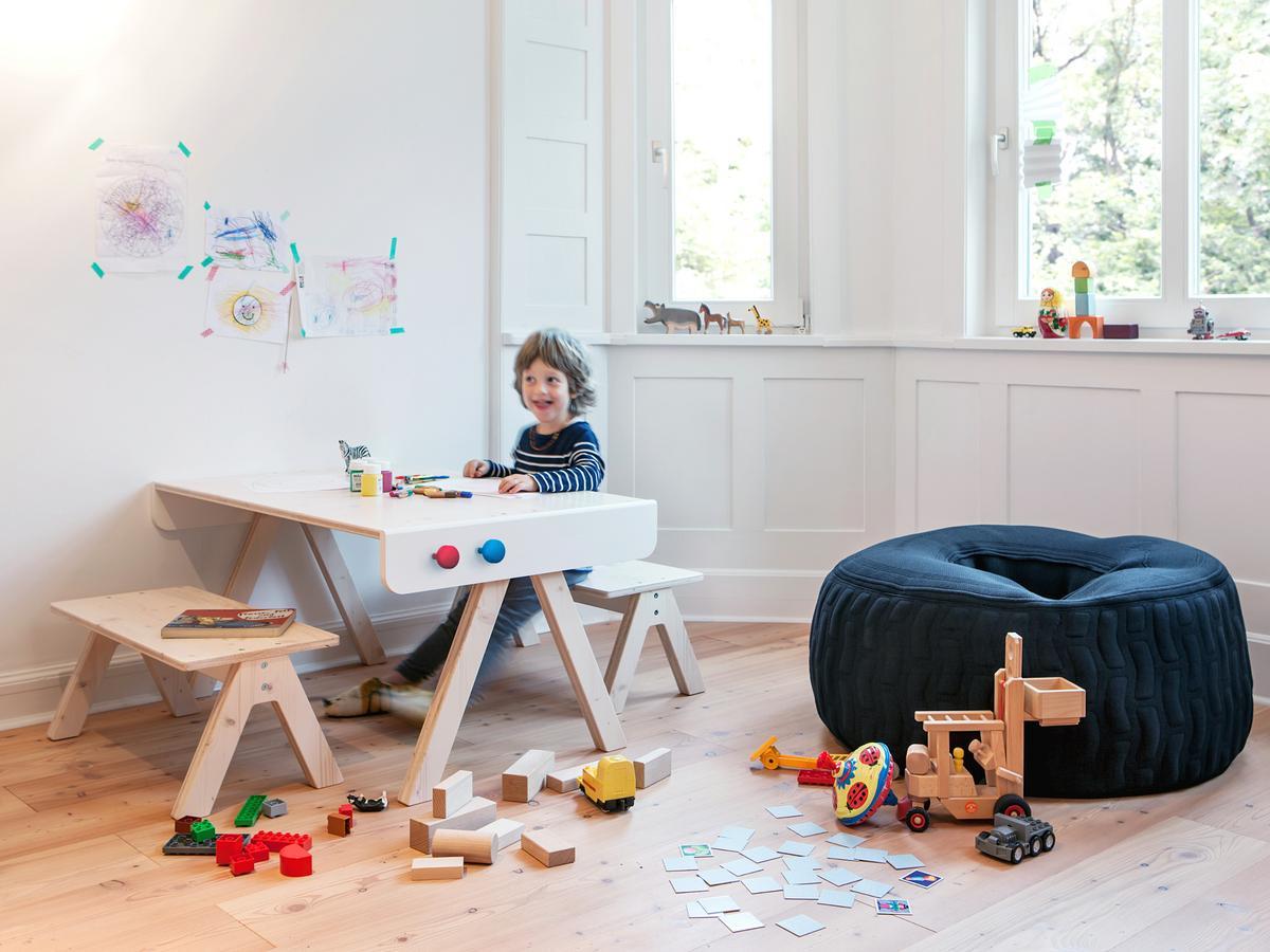 Famille Garage Tisch/Bock
