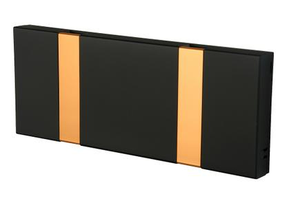 Knax Kupfer 2 Haken|MDF soft black lackiert