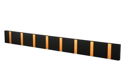 Knax Kupfer 8 Haken|MDF soft black lackiert