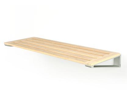 Knax Schuhablage Ablage 8 (80 cm)|Eiche geölt|Grau