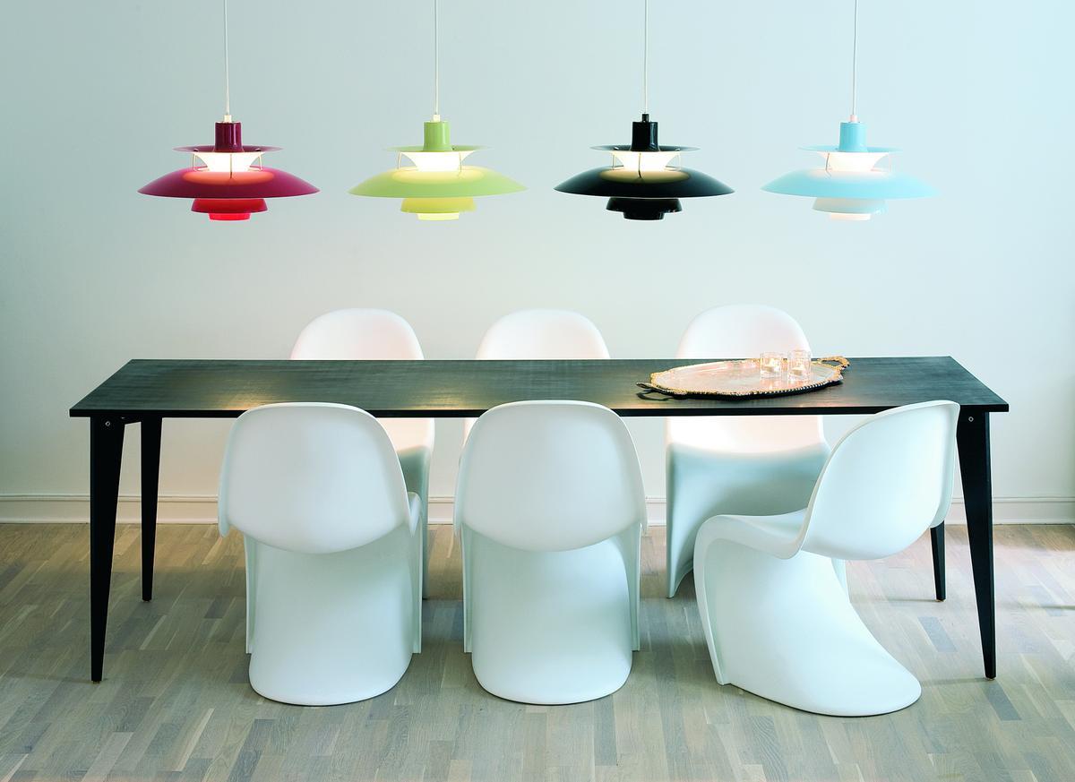 louis poulsen ph 50 olive black von poul henningsen 1958. Black Bedroom Furniture Sets. Home Design Ideas