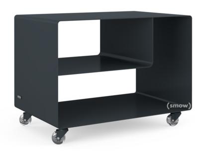 Rollwagen R 106N Einfarbig|Anthrazitgrau (RAL 7016)|Transparentrollen