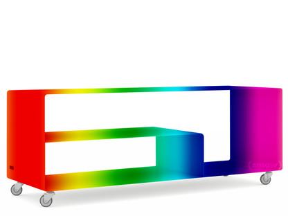 Sideboard R 111N Zweifarbig|Wunschfarbe zweifarbig (RAL Classic)|Industrierollen