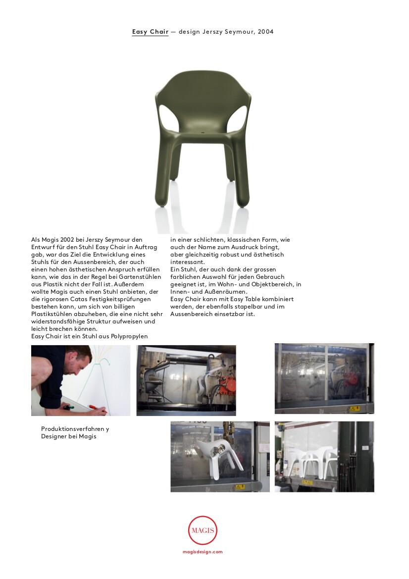 Magis easy chair von jerszy seymour 2004 designerm bel for Magis easy chair