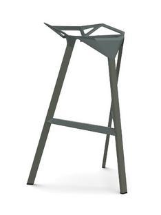 Stool_One 770 mm Barhöhe|Grau-grün glänzend (5256)