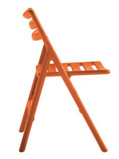 Folding Air-Chair ohne Armlehnen|Orange