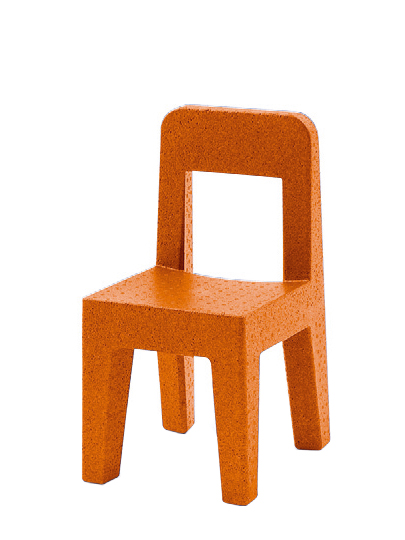 magis seggiolina pop orange von enzo mari 2004 designerm bel von. Black Bedroom Furniture Sets. Home Design Ideas