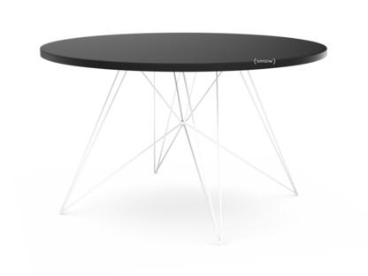 Magis tavolo xz3 rund mdf schwarz weiß lackiert von studio tecnico
