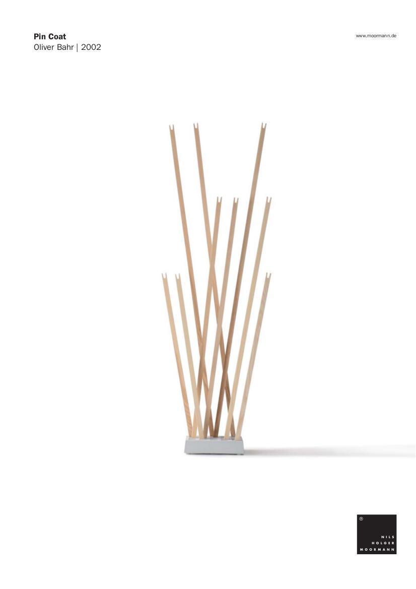 nils holger moormann pin coat pin brolly von nils holger. Black Bedroom Furniture Sets. Home Design Ideas