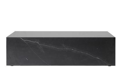 Plinth Table H 27 x B 60 x T 100 cm|Schwarz