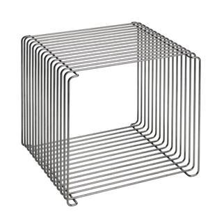 Panton Wire 38 cm|Dunkel verchromt
