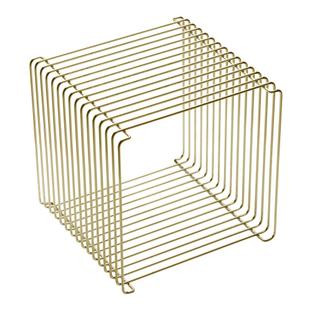Panton Wire Cube 38 cm|Gold - Limited Edition