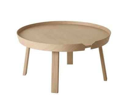 Around Coffee Table Groß (H 36 x Ø 72 cm) Eiche natur