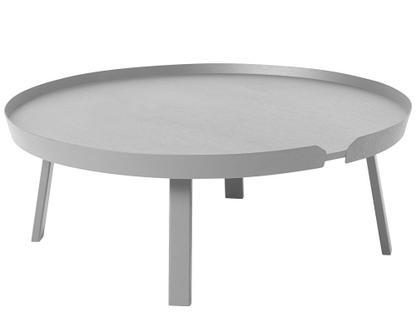 Around Coffee Table XL (H 36 x Ø 95 cm)|Esche grau