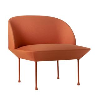 Oslo Chair Stoff Steelcut tangerine