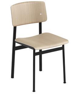 Loft Chair Eiche/Schwarz