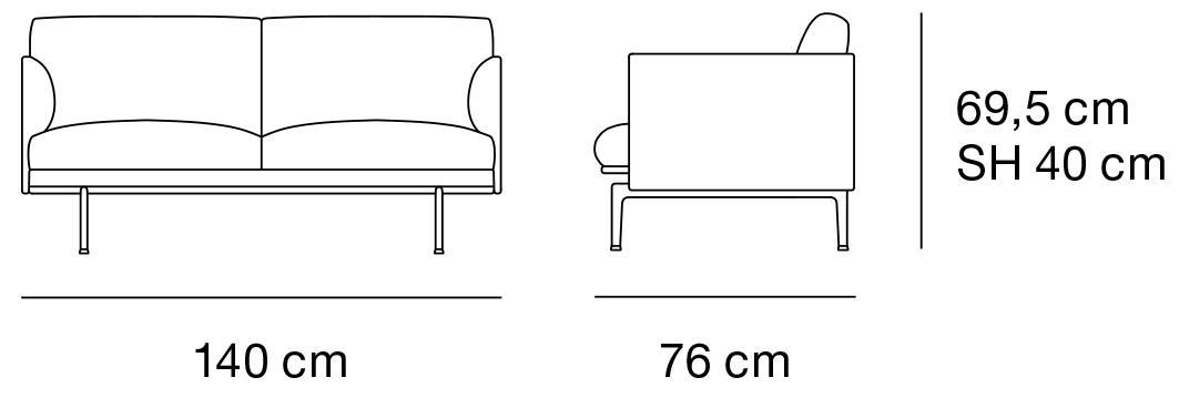 muuto outline studio sofa von anderssen voll 2016 designerm bel von. Black Bedroom Furniture Sets. Home Design Ideas