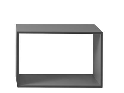 Stacked Regalmodul 2.0 L (65,4 x 43,6 x 35 cm)|Offen|Grau