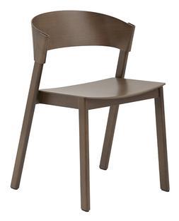 Cover Side Chair Eiche dunkelbraun gebeizt