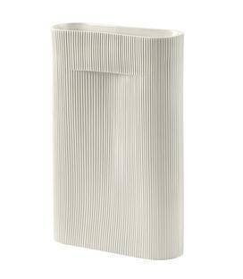 Ridge Vase Tall (H 48,5 cm) Off-White