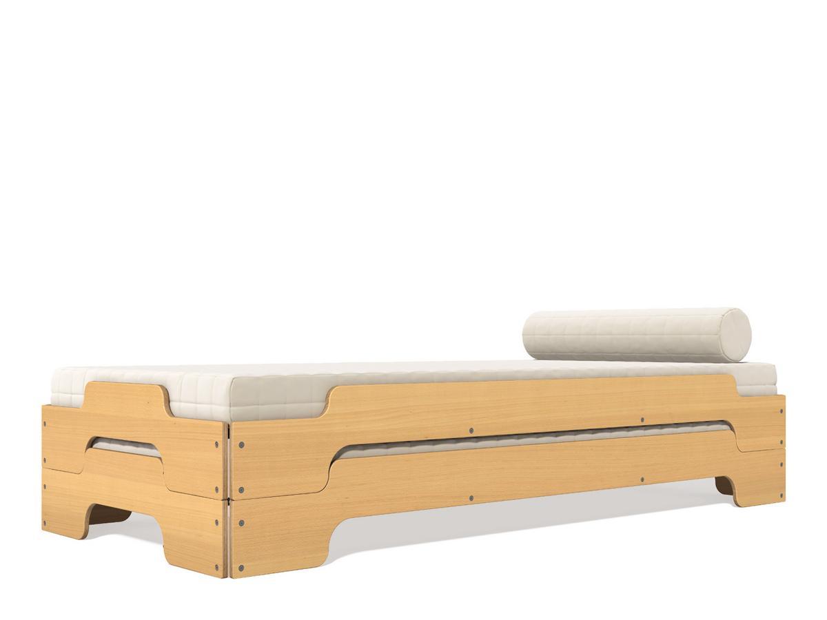 m ller m belwerkst tten stapelliege von rolf heide 1966. Black Bedroom Furniture Sets. Home Design Ideas