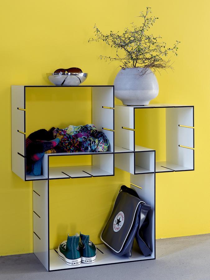 m ller m belwerkst tten konnex regalelemente 3er set von. Black Bedroom Furniture Sets. Home Design Ideas