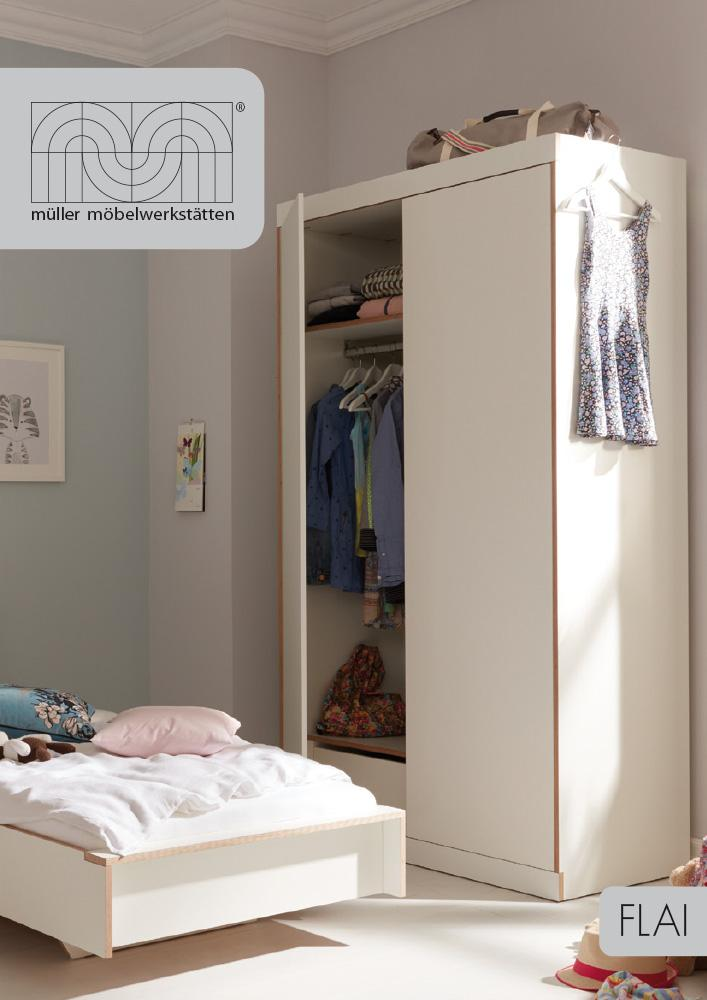 m ller m belwerkst tten flai bett von kaschkasch 2015. Black Bedroom Furniture Sets. Home Design Ideas