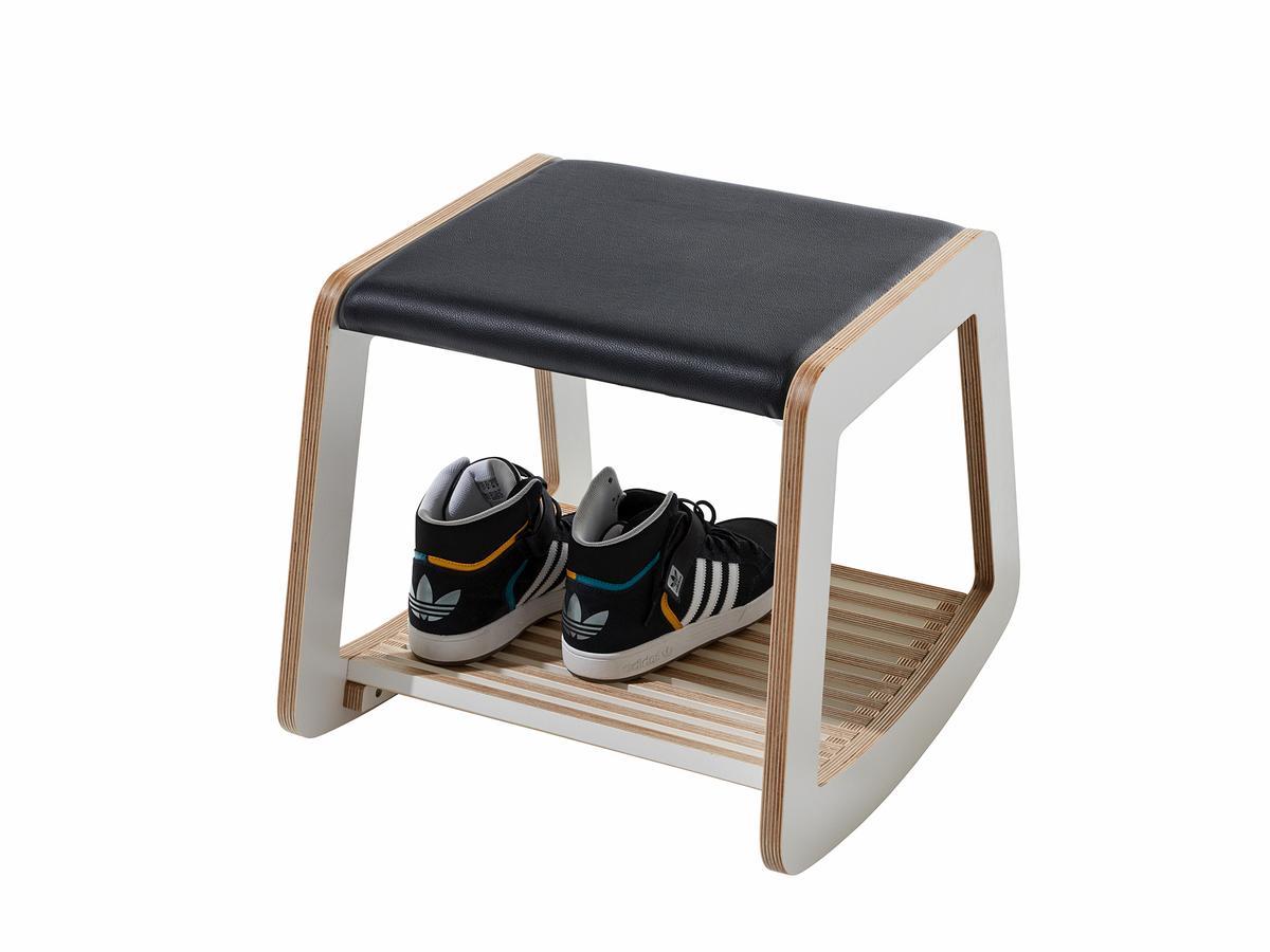 m ller m belwerkst tten rocker schaukelhocker von metz. Black Bedroom Furniture Sets. Home Design Ideas