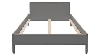 Nait Doppelbett 140 x 200|Mit Kopfteil|CPL anthrazit