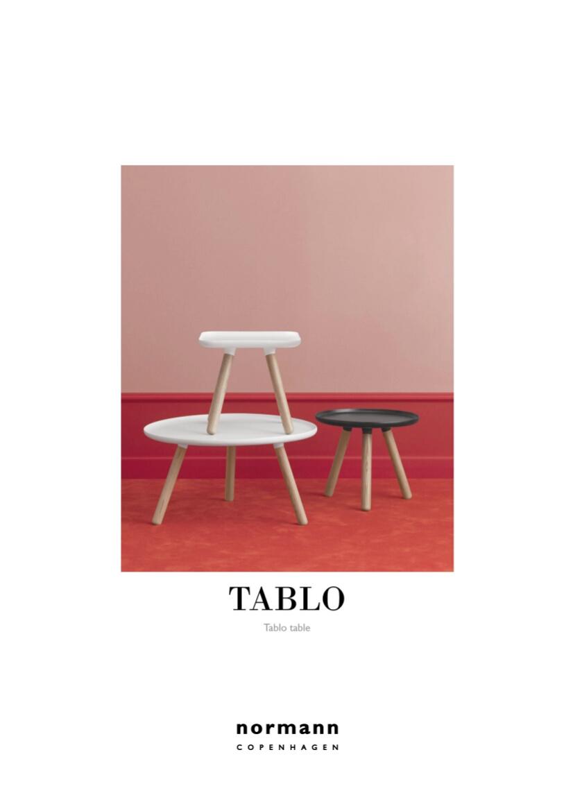 normann copenhagen tablo table eckig von nicholai wiig. Black Bedroom Furniture Sets. Home Design Ideas