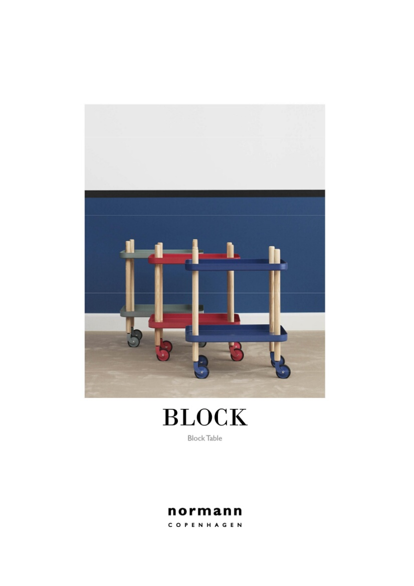 normann copenhagen block table von simon legald 2012 designerm bel von. Black Bedroom Furniture Sets. Home Design Ideas