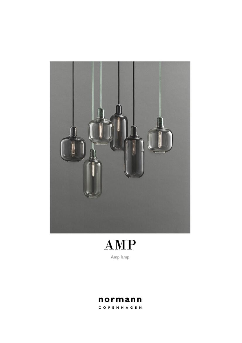 normann copenhagen amp table lamp by simon legald 2014. Black Bedroom Furniture Sets. Home Design Ideas