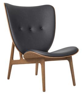 Elephant Chair Vintageleder anthrazit Eiche geräuchert
