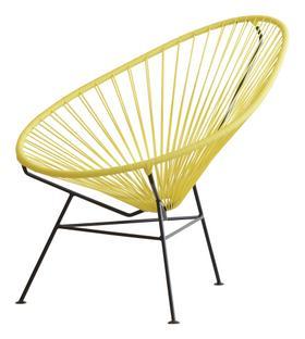 Acapulco Chair gelb ohne Kissen