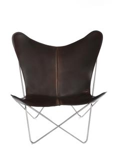 Trifolium Butterfly Chair Mokka|Edelstahl