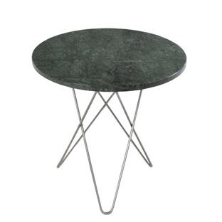 Tall Mini O Table Grün Indio|Edelstahl