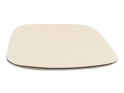 Sitzauflage für Eames Armchairs Mit Polster wollweiß