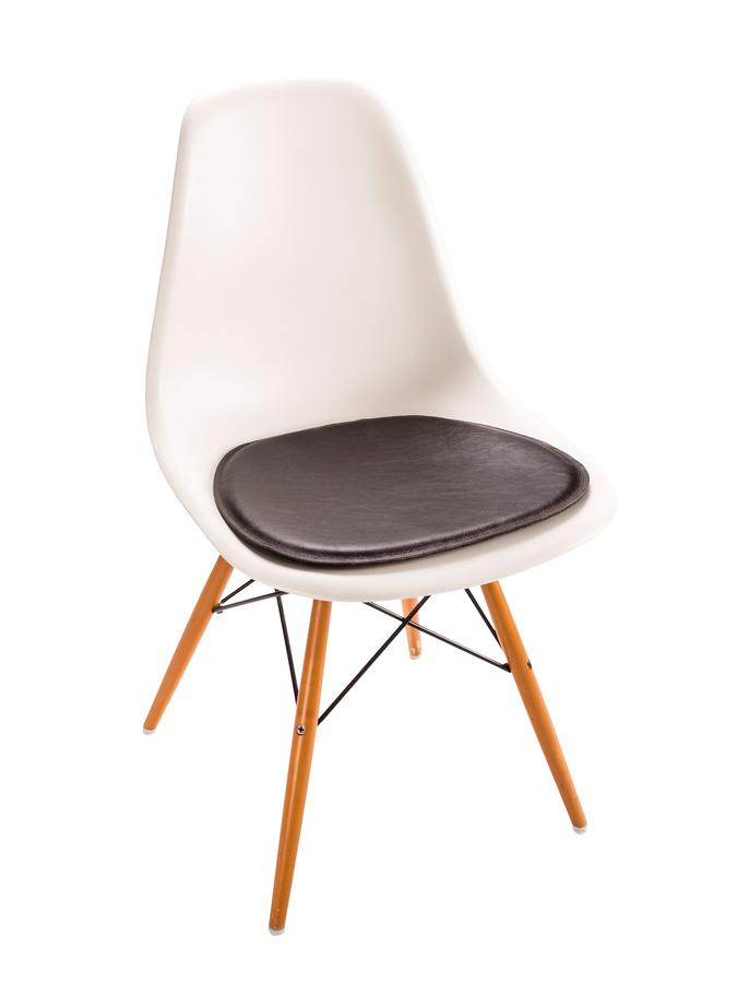 parkhaus berlin sitzauflage leder f r eames side chairs. Black Bedroom Furniture Sets. Home Design Ideas