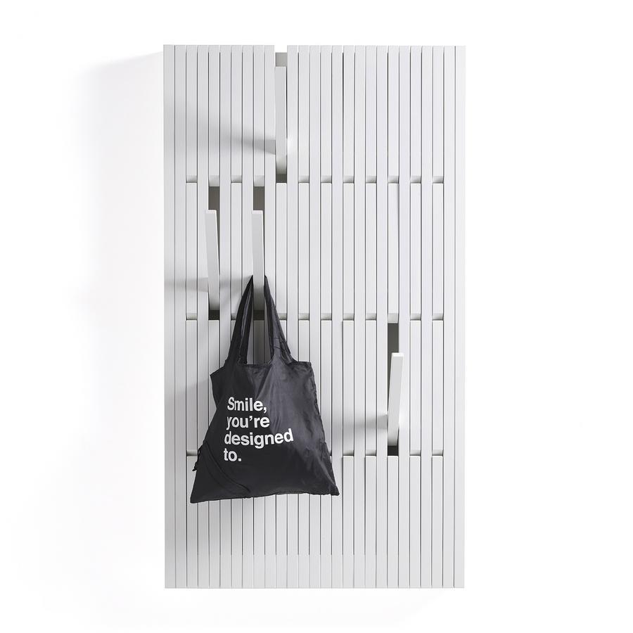 Piano garderobe h1450 x b820 mm buche wei lackiert von for Garderobe piano