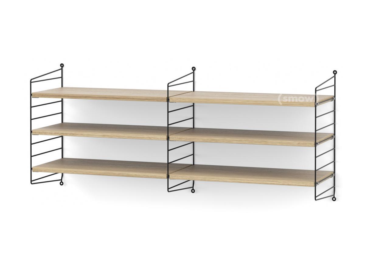 string system wandregal m von nisse strinning 1949. Black Bedroom Furniture Sets. Home Design Ideas