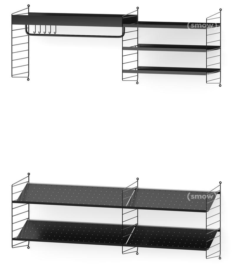 String System Garderobe von Nisse Strinning, 1949 - Designermöbel ...
