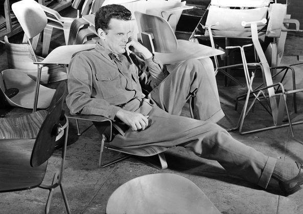 Charles Eames Chair : Charles ray eames designermöbel von smow